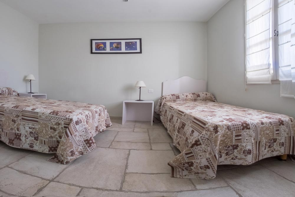 Twin beds house Santoline Mititia residence Provence